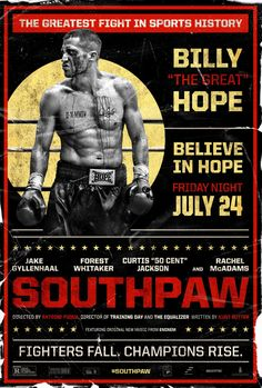 An early 2015 Oscar contender! #southpaw