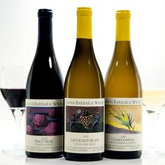"Thank you to Suzanne Fitzgerald and the folks at Santa Barbara Winery for their generous donation to the day. SB Winery was the only wine we served at our event that day - another one of Anne's ""favorite things!"""