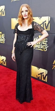 Jessica Chastain at the 2016 MTV Movie Awards