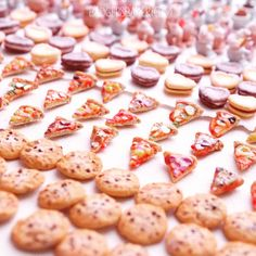 Miniature Food Magnets by Badger's Bakery
