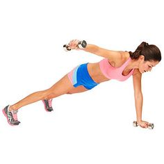 The Beach Body Cinch and Sculpt Circuit Workout  Plank, Row, Flye
