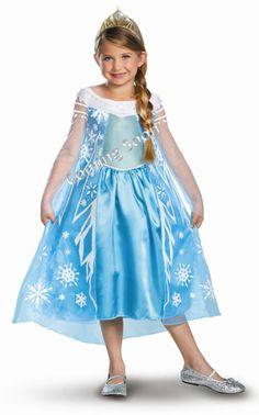 Disney Frozen Costume Elsa