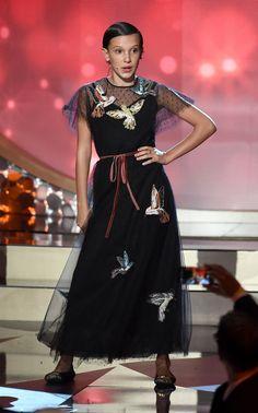 5 momentos fashions de Millie Bobby Brown: a fofa e estilosa atriz de Stranger Things