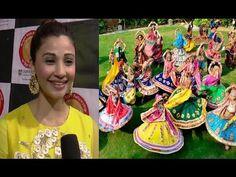 Daisy Shah At Bright Start Fellowship International School Garba Festival 2016.