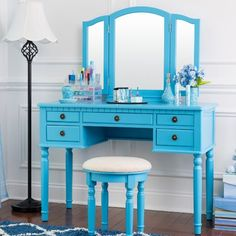 Home Styles Naples Bedroom Vanity Table - White - Timeless in its ...