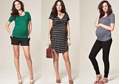 Spring/summer maternity fashion