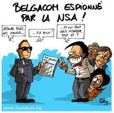 La NSA aurait espionné Belgacom depuis 2011 !