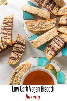 low carb biscotti recpe