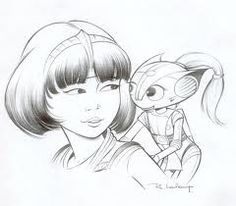 Rough Yoko Tsuno et Mina - aventures spatiales / #rogerleloup