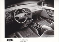 Ford Mondeo interior & dashboard (NL, 01/1993)