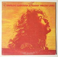Carlos Santana / Buddy Miles - Carlos Santana & Buddy Miles! Live!, Columbia  - PC 31308,  Fusion, Jazz-Rock, Free Improvisation, 1972