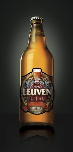Beer label by Marcelo Rodiño, via Behance
