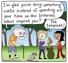 What inspired you? The internet!