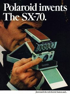 Polaroid SX-70, 1974.