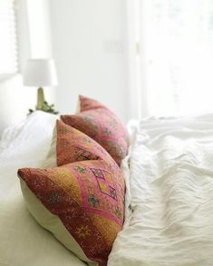 Decorative Pillows, Decor Pillows, Indian Textiles, Silk Pillow, Vintage Pillows, Linen Bedding, Bean Bag Chair, Photo And Video, Interior Design