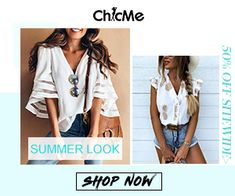 ChicMe WW Free Advertising, Summer Looks, Shop Now, Shopping, Summer Fashions, Summer Outfits, Summer Clothes, Summer Styles