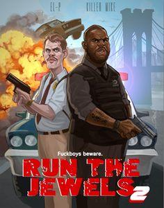 El-P + Killer Mike = Run The Jewels