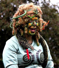 Scary Halloween Hairstyles 2012 Ideas & Designs For Kids & Girls