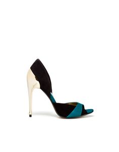 Combinated Colour Sandal By Zara