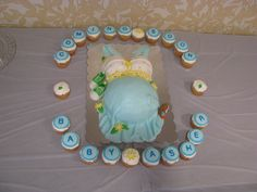 another baby shower cake i made