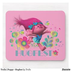 Official Licensed TROLLS HUGFEST Purple /& Pink Glitter Small Handbag Purse