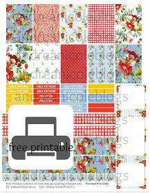 Free Printable Andrea Nicole Blogs