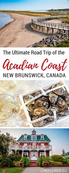 From Miscou Island on the Acadian Peninsula to Murray Beach near Confederation Bridge, we share the best things to do on an Acadian Coast road trip through New Brunswick, Canada | things to do in New Brunswick | New Brunswick Road trip | Road trips in Canada