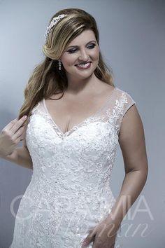 Womens Bridal Gown Available at Ella Park Bridal | Newburgh, IN | 812.853.1800 | Cara Mia Woman - Style 29254