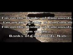 I'm On The Banks Of Cincinnati Remix - Lyrics Video - You Tube Audio Library Music - YouTube