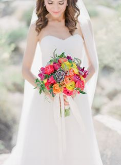 A Vibrant, Desert Wedding at Boulders Resort and Spa in Carefree, Arizona