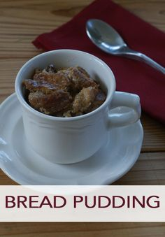 Grab this delicious bread pudding recipe for your next holiday brunch or dessert!