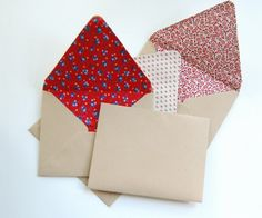 lined envelopes--it's what's on the inside that counts!