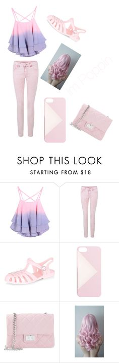 """""""Pink And Purple"""" by mynameisyaya ❤ liked on Polyvore featuring J.Crew, Design Inverso, women's clothing, women, female, woman, misses and juniors"""