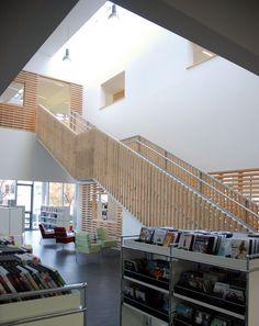 Médiathèque Aimé Césaire < g+ architectes