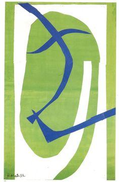 Henri Matisse - Japanese Mask  1950