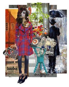 """london calling..."" by daizyjayne ❤ liked on Polyvore featuring Rain Man, Ballard Designs, R13, Vivienne Westwood Anglomania, Stray Dog Designs, Allurez, Art Classics, Dolce&Gabbana and Tiffany & Co."
