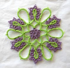 AUNT ELLENS PATTERN TATTING TREASURY | BEGINNER KNITTERS PATTERN