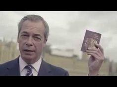 BREAKING : Nigel Farage : Vote UKIP To Keep Brexit Alive