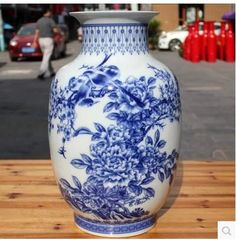 Shipping Jingdezhen Ceramic Blue And White Flower Vase Table And Bottle Gourd Porcelain Decorated Home Furnishing Craft Ornaments Glass Floral Vases Glass Flower Bowls From Pengyaod76, $217.79| Dhgate.Com