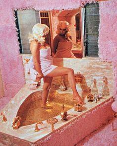 Jayne Mansfield at home.