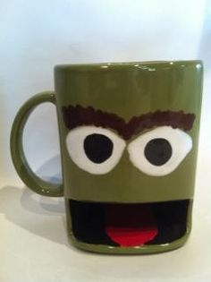 Grouch Cookie and Drink Dunking Mug, via Etsy.