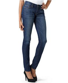 LOLITA SKINNY, Lucky Brand (Dark wash skinny jeans can be dressed ...