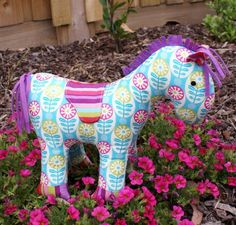 horse softie pattern - Melly and Me - Pippi
