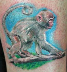 d6d8b570a89eb 21 best Monkey 3d Tattoo images in 2017 | Tatoos, 3d tattoos, Artist
