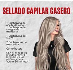Cabello Hair, Tips Belleza, Health And Beauty Tips, Cute Woman, Hair Hacks, Girl Hairstyles, Your Hair, Beauty Hacks, Hair Care