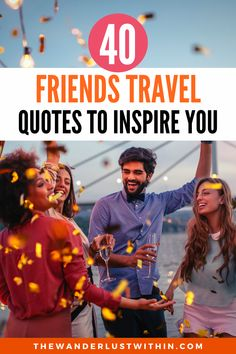 Memories are meant to be shared, so check out these 40 Travel with Friends quotes, that will inspire you to go on an adventure with your friends. #friendsquotes  | friends travel quotes with friends friendship | best friend travel quotes with friends memories | travel quotes with friends road trips | travel quotes with friends fun | travel with friends quotes friendship | friends quotes travel | travel with friends quotes adventure | friends travel quotes girls | friends travel quotes funny Travel With Friends Quotes, Friend Travel, Funny Travel Quotes, Solo Travel Quotes, Fun Travel, Packing Tips For Travel, Travel Books, Arizona, Bag Essentials