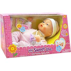 My Sweet Love Interactive Baby Doll---for my granddaughter to replace her other baby doll