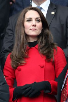 55c8a6ab86886 18 Mar 2017 - Duchess of Cambridge attends Wales v France 6 Nations ...