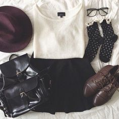 Teenage Fashion Blog: Lovely Fall Teenage Outfit