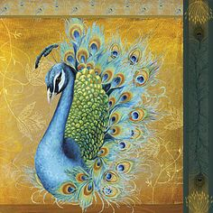 Stretched Canvas Art Animal Salon Royale III by Mary Beth Griffin Ready to Hang – USD $ 29.99